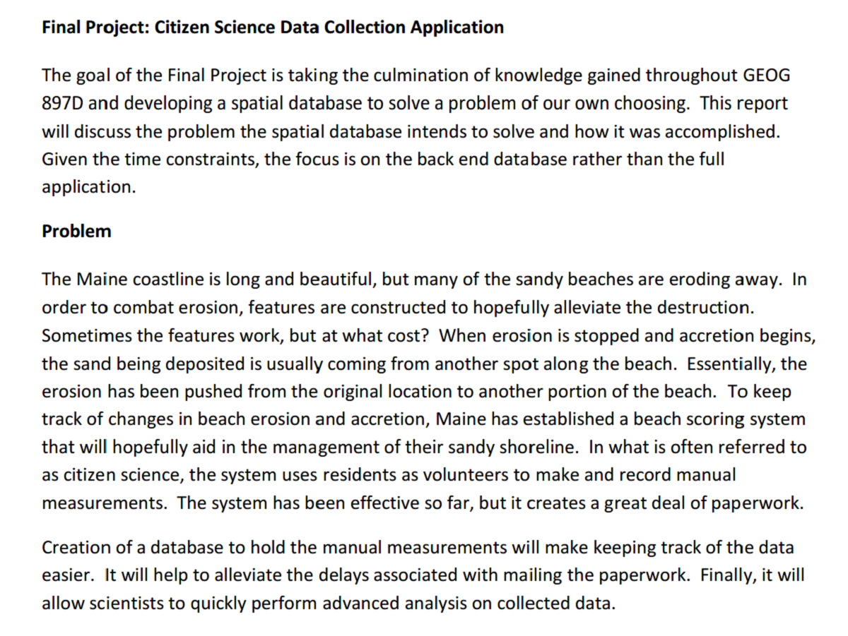 Paper - Citizen Science