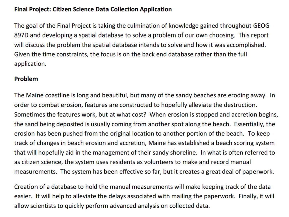 Paper - Citizen Science